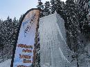 ledová lezecká stěna